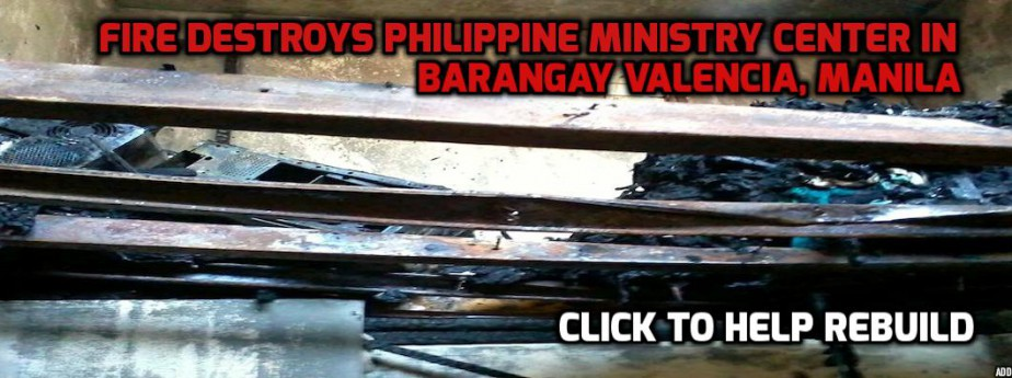 Fire Destroys Philippine Ministry Center in Barangay Valencia, Manila
