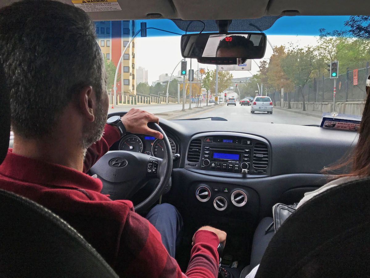 Quietly Hearing the Gospel in a Taxi Cab in Turkey