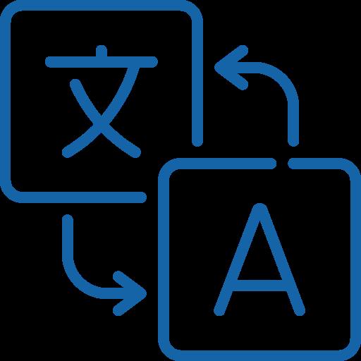 icon translating languages