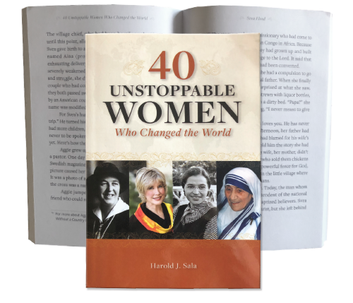 40 Unstoppable Women Who Changed the World By Dr. Harold Sala