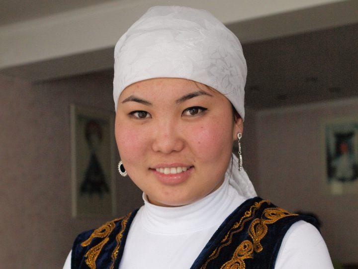 A_Kyrgyz_woman