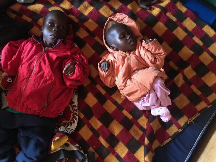 Mercy & Elizabeth at Precious Kids Center